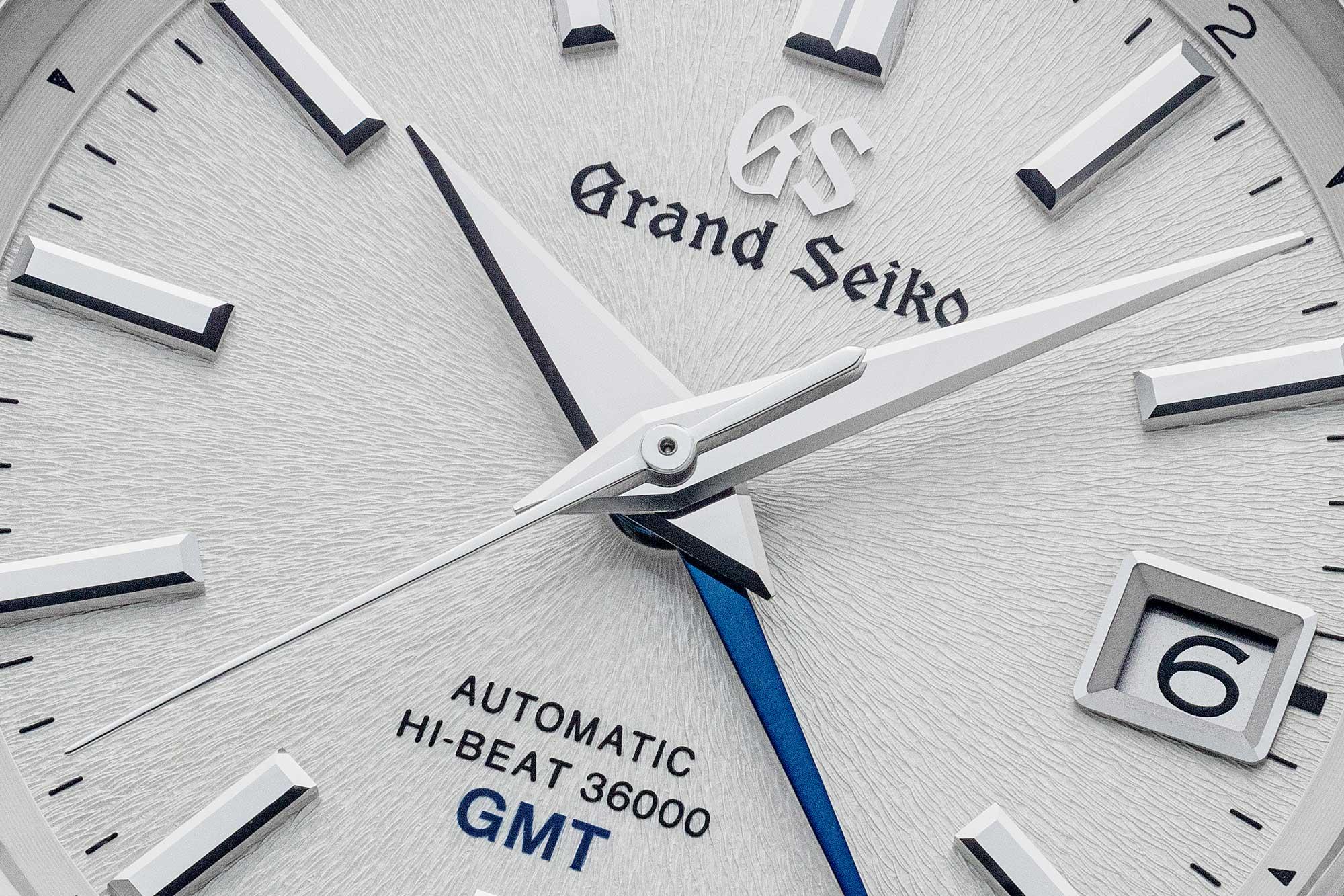 White Mt. Iwate texture dial of Grand Seiko SBGJ201.