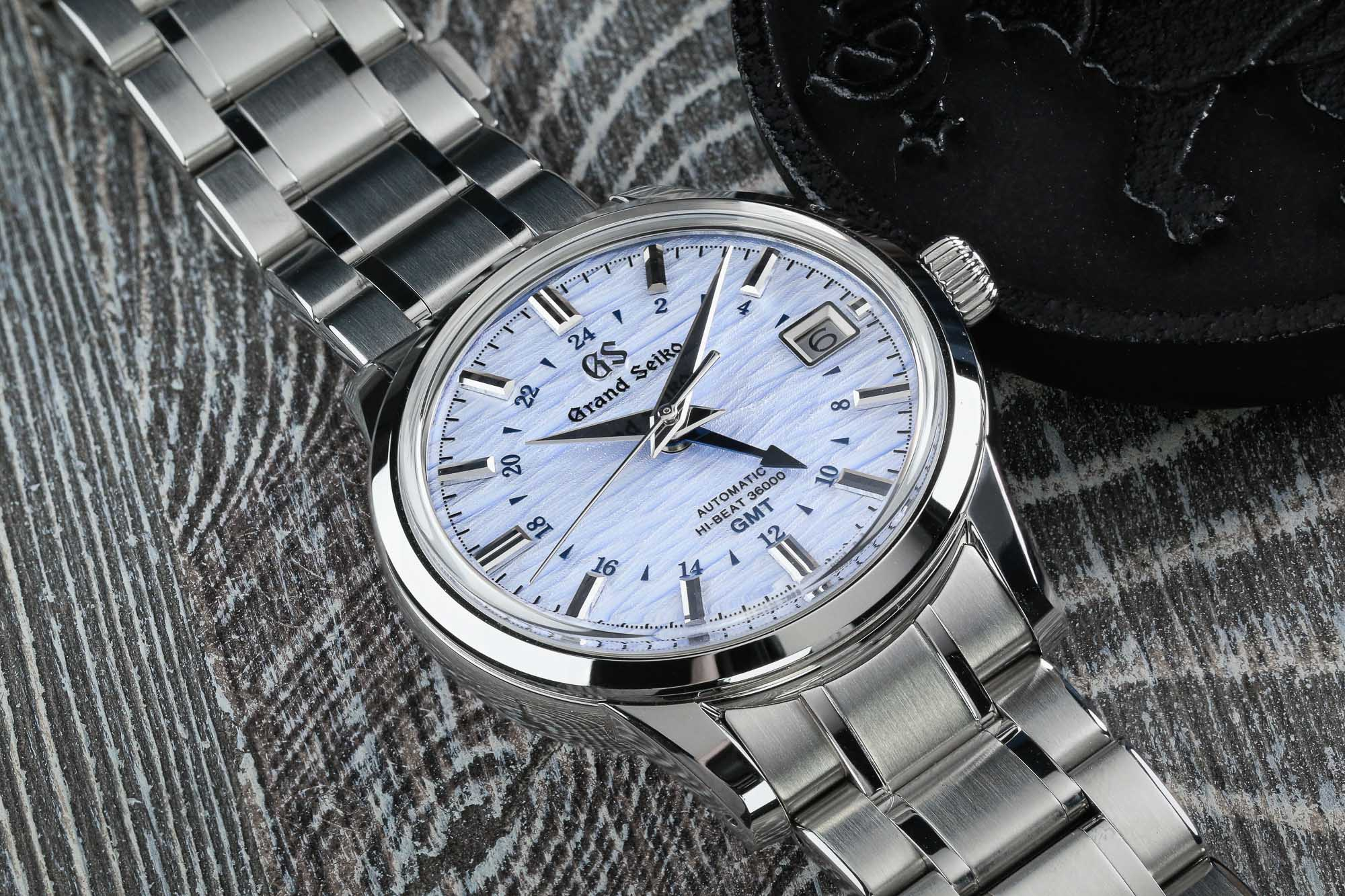 Grand Seiko SBGJ249 stainless steel wristwatch