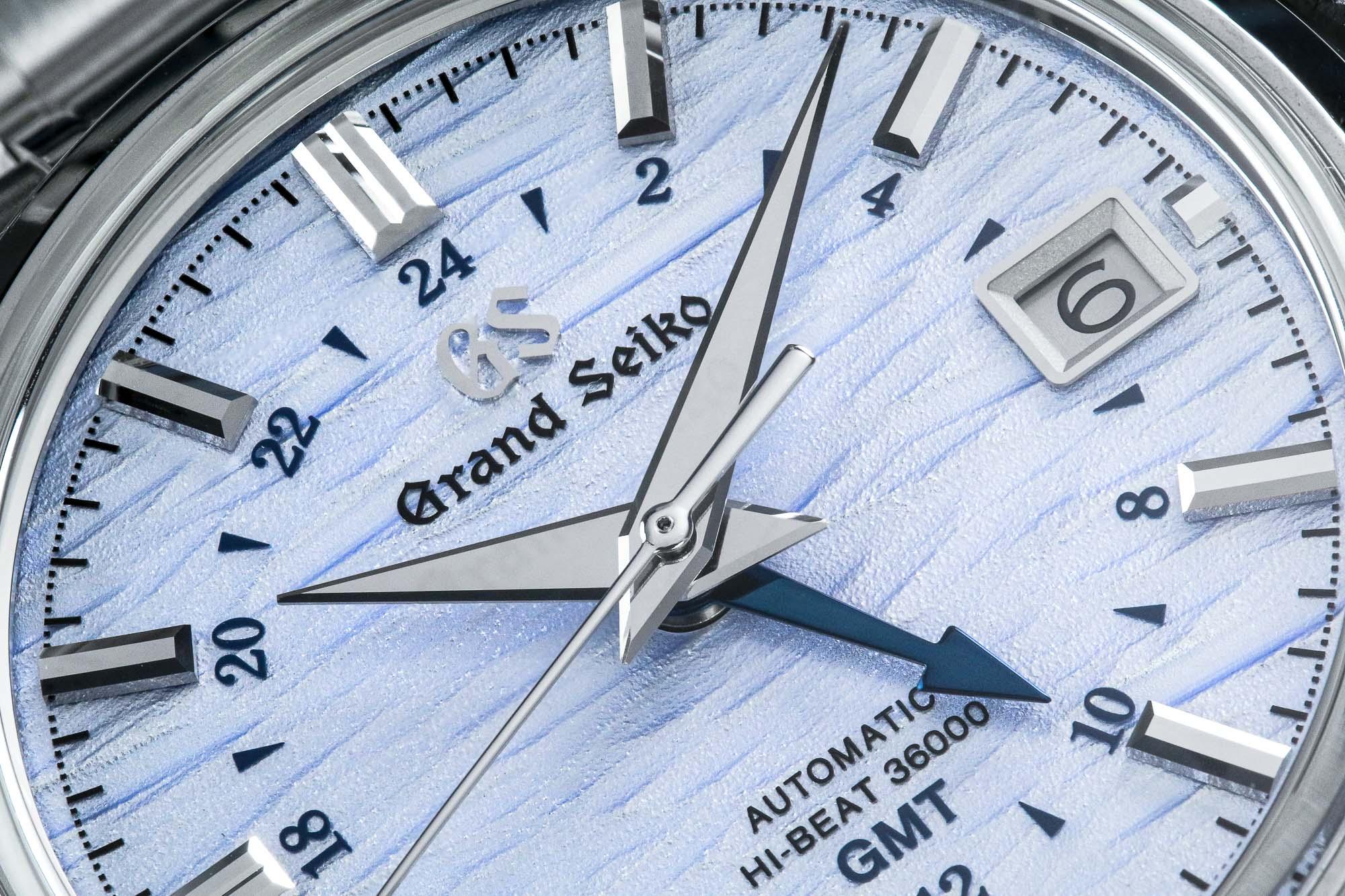 Grand Seiko SBGJ249 macro dial detail
