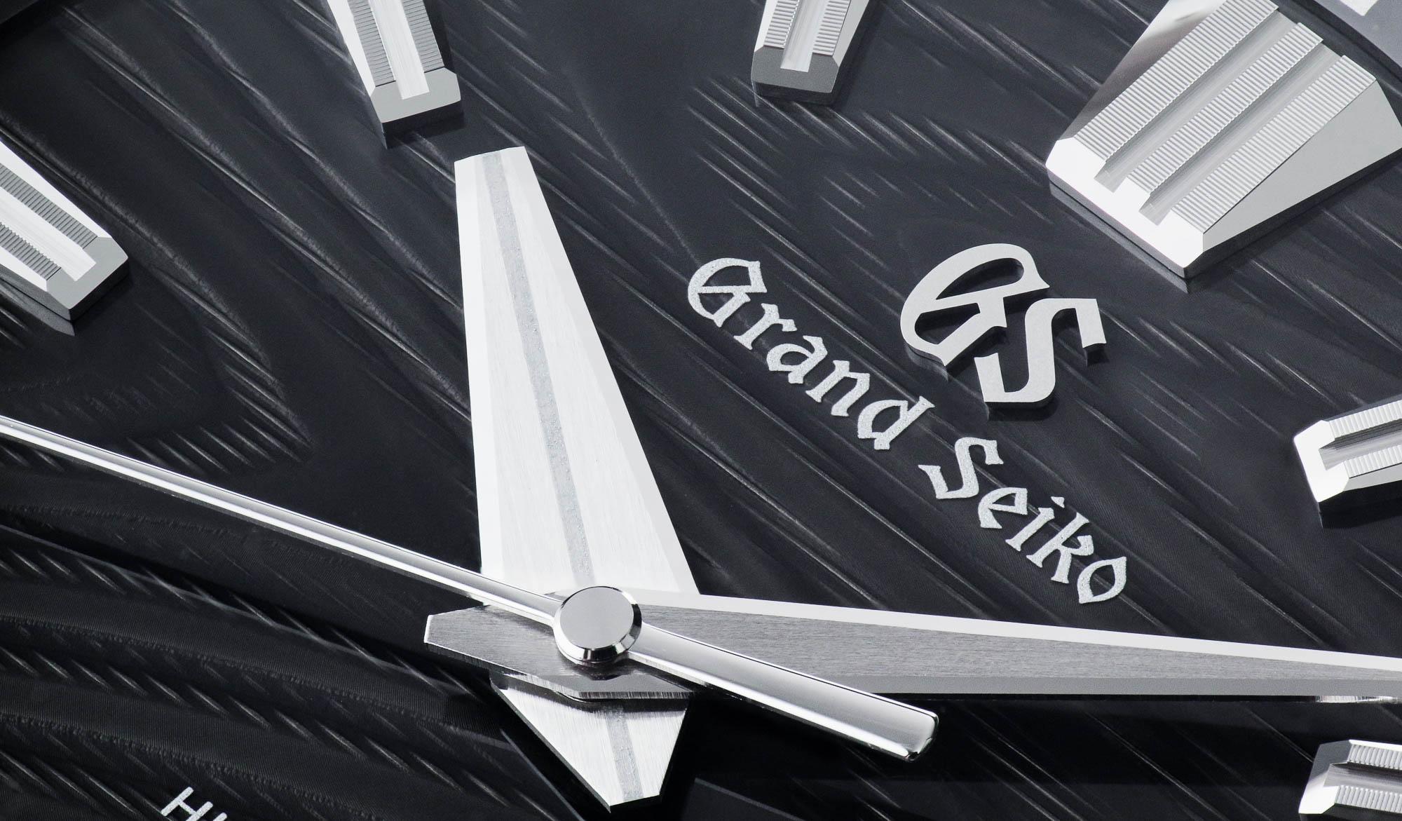 Grand Seiko SLGH007 macro of dial