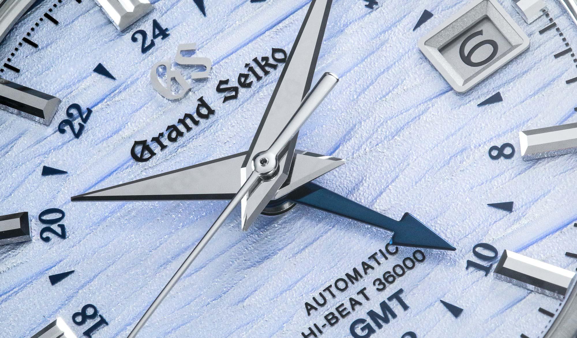 Dial macro of Grand Seiko SBGJ249