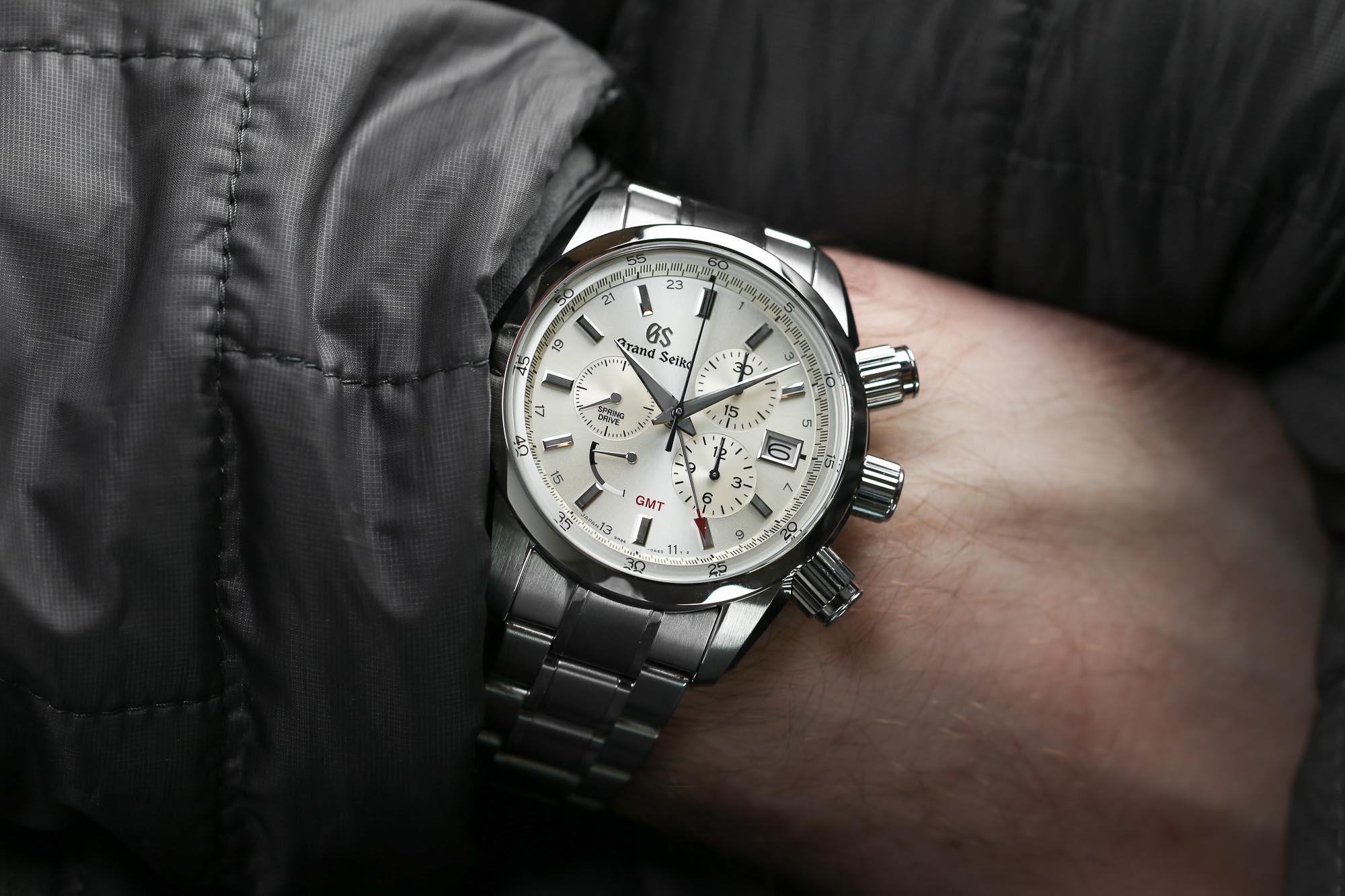 Grand Seiko SBGC201 on the wrist.