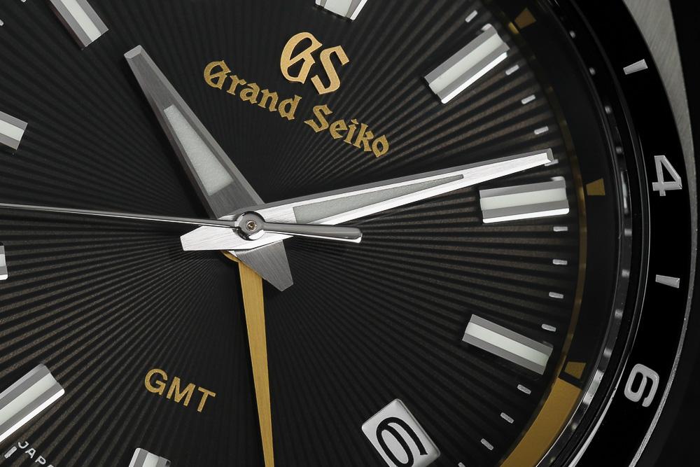 Dial closeup of Grand Seiko SBGN023