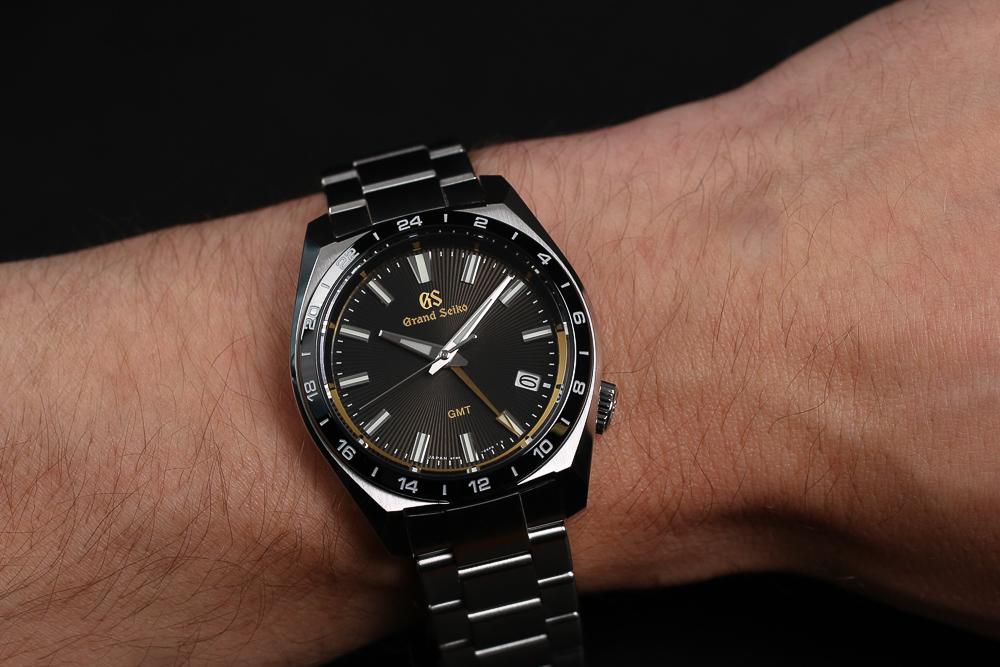 Grand Seiko SBGN023 on the wrist