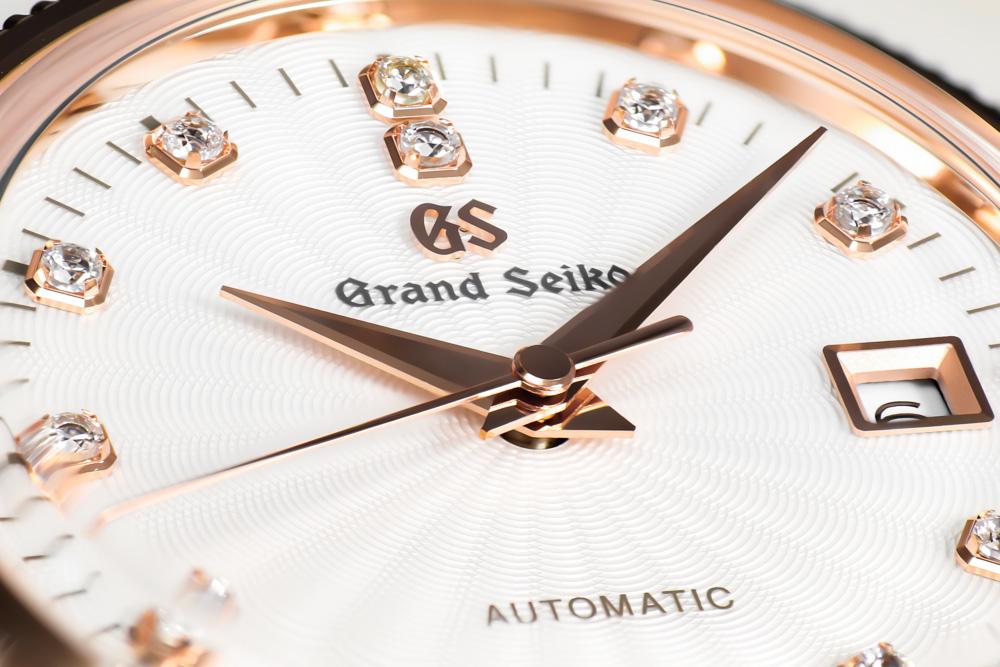 Dial closeup Grand Seiko STGK016