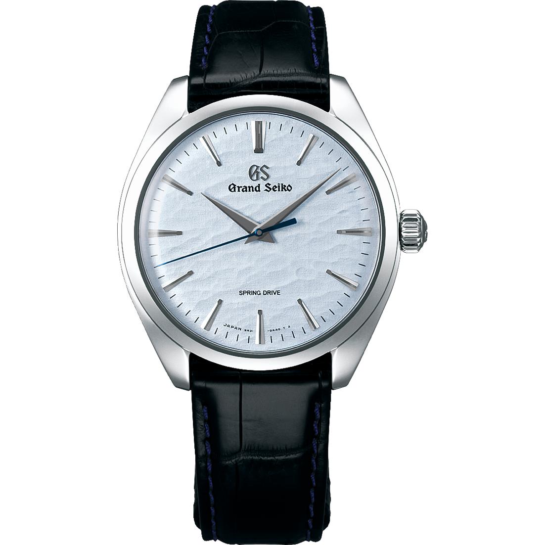 Grand Seiko SBGY007 blue dial men's wristwatch
