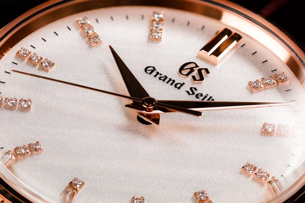 Grand Seiko SBGX346 dial detail