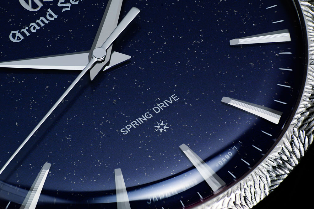 Dial detail of Grand Seiko Masterpiece SBGZ007