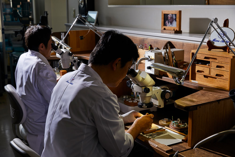 Watchmakers at the Micro Artist Studio