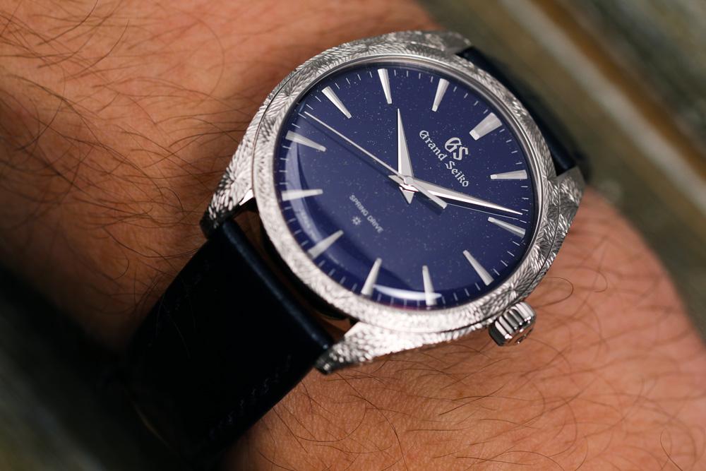 Grand Seiko SBGZ007 on the wrist
