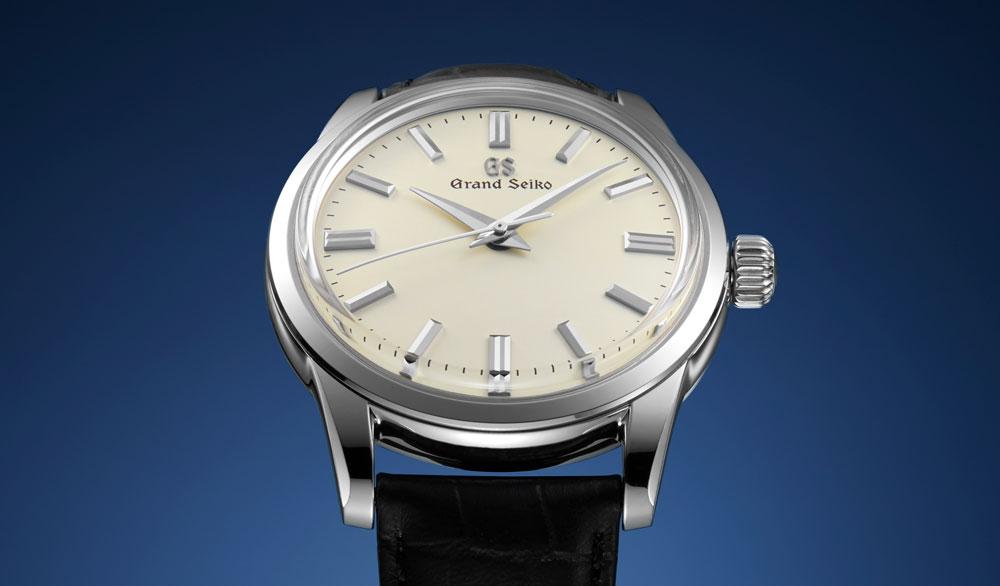 Grand Seiko SBGW231 cream dial wristwatch