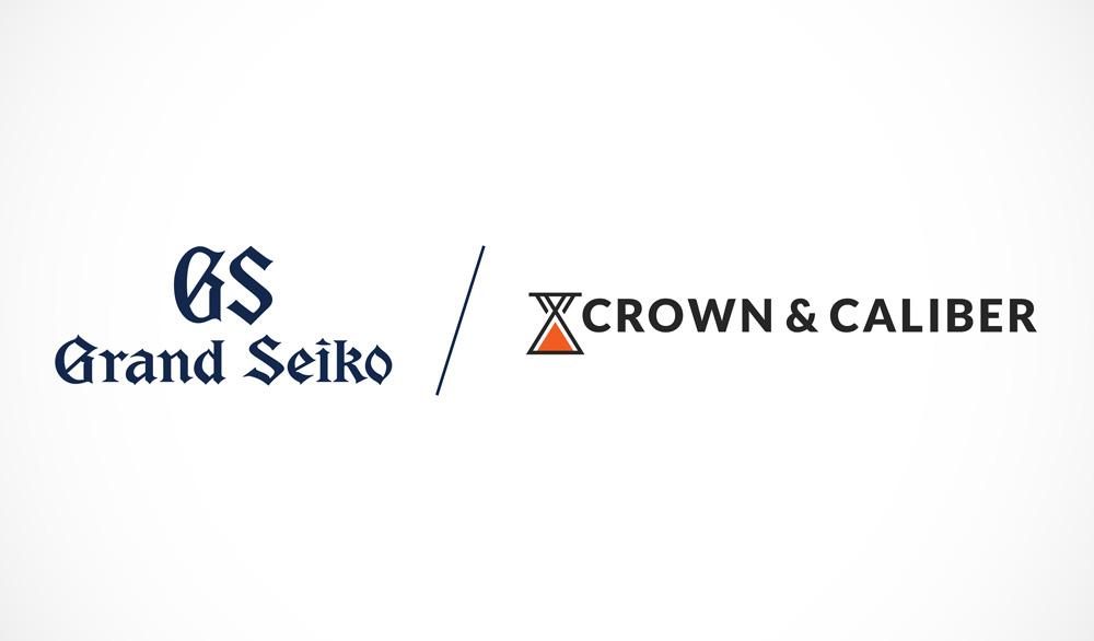 Grand Seiko Crown & Caliber logos