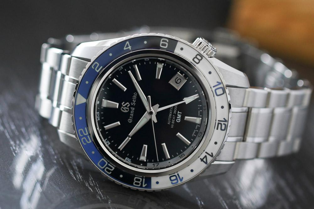 Grand Seiko SBGJ237 Hi-Beat 36000 GMT watch.