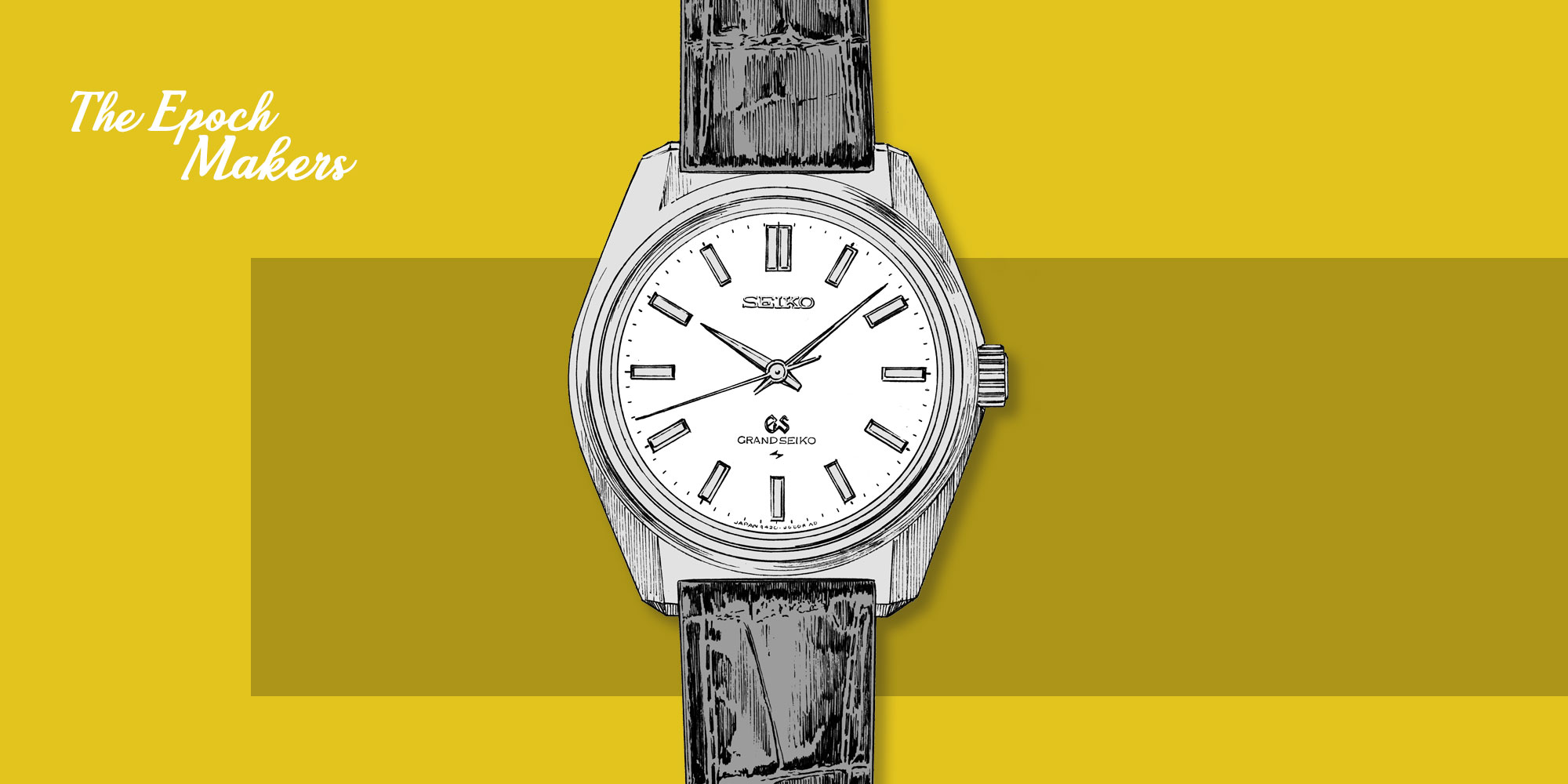 Grand Seiko vintage 44GS sketch watches