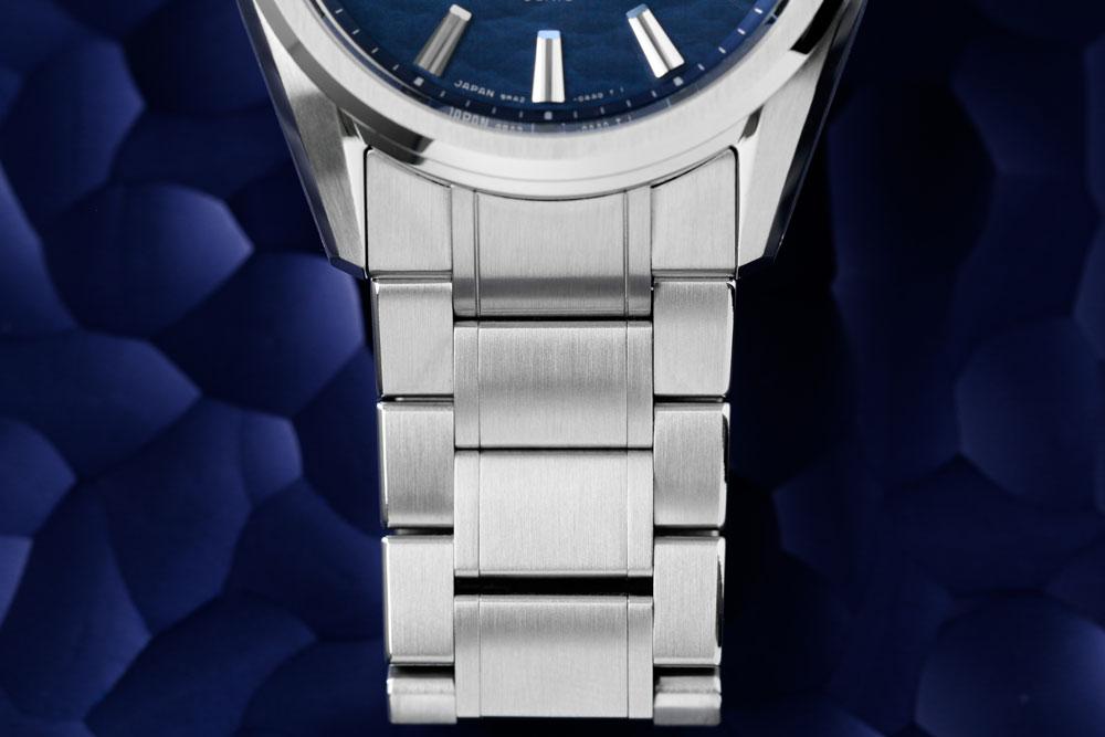 Stainless steel bracelet of Grand Seiko SLGA007.